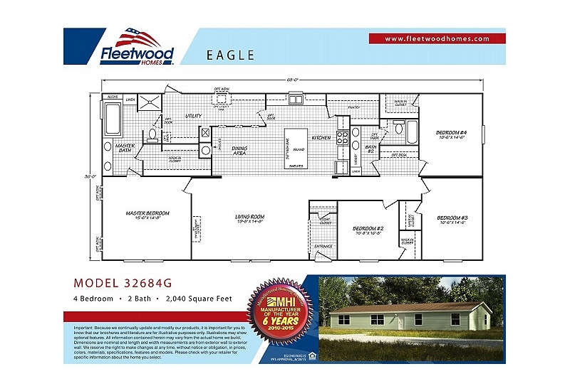 Fleetwood-Berkshire-32684G-Floor-Plan